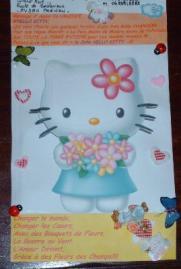 Dessin Hello Kitty