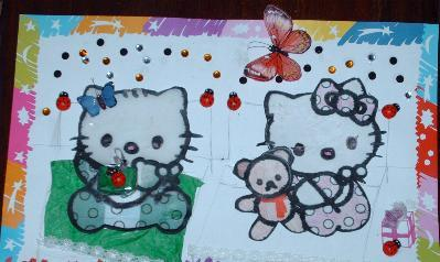 Dessin Hello Kitty 1