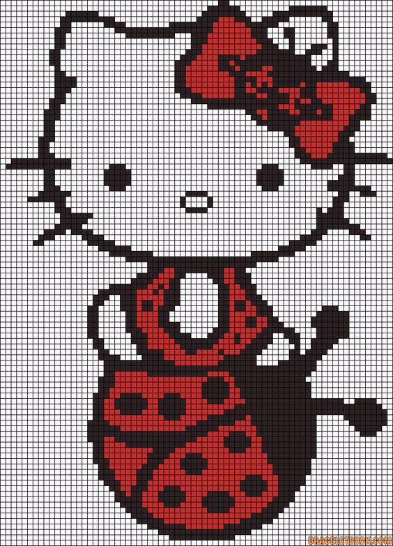 Modele diagramme hello kitty 2 4e8fa105faee1afd83b831c8f43b4028