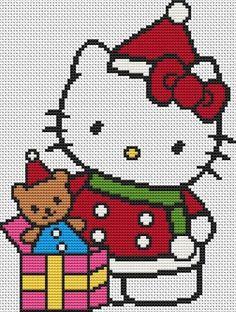 Modele diagramme hello kitty noel 59e1ae854f5d915c888e1cf02f3d9c52