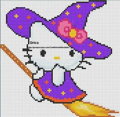 Modele diagramme hello kitty petite sorciere f0c3a55768aab4f68637a8d895707047